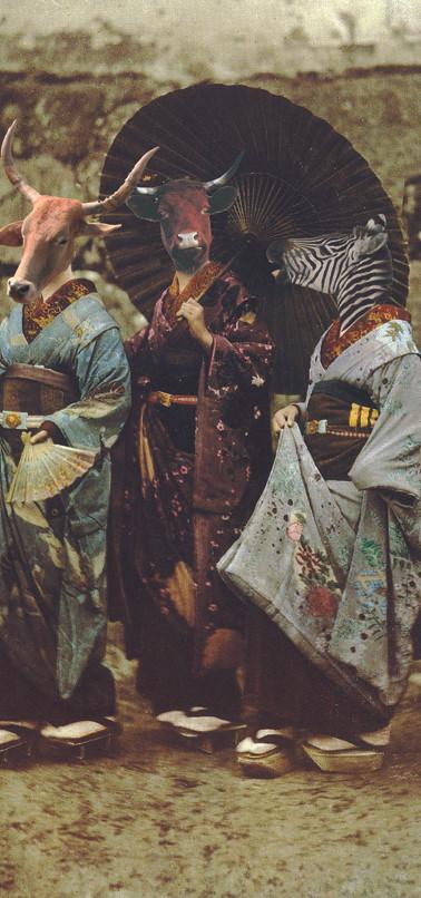 Irène Rayé au Japon
