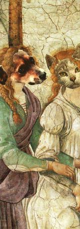 Simona Canini et une jeune fille, 1500