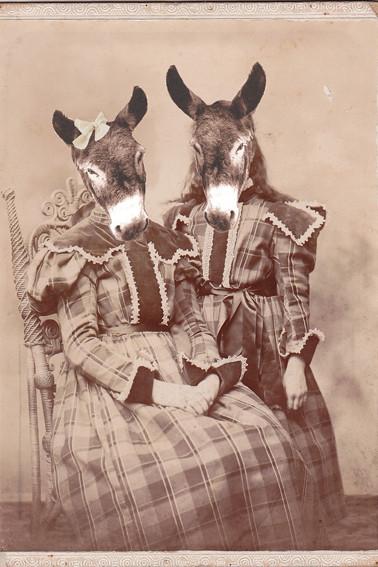 Harrriet et Margaret Laness, Ohio, 1885