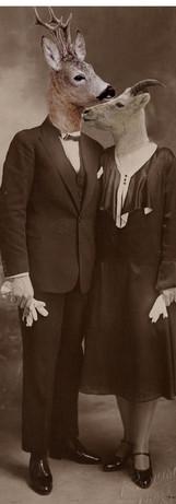 Raymonde Lachèvre et son mari Ernest Capra