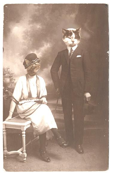 Gaston Félix et son épouse Félicienne