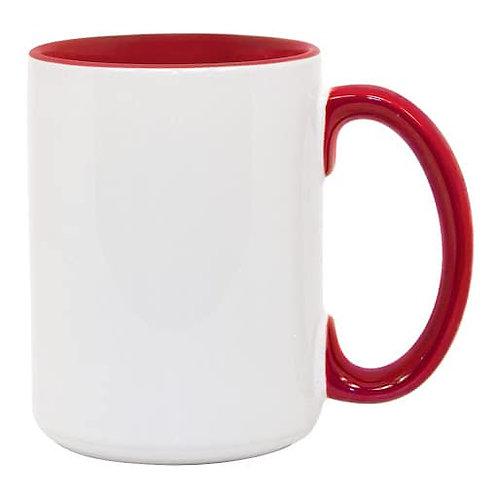 15oz Sublimation Mug Coloured