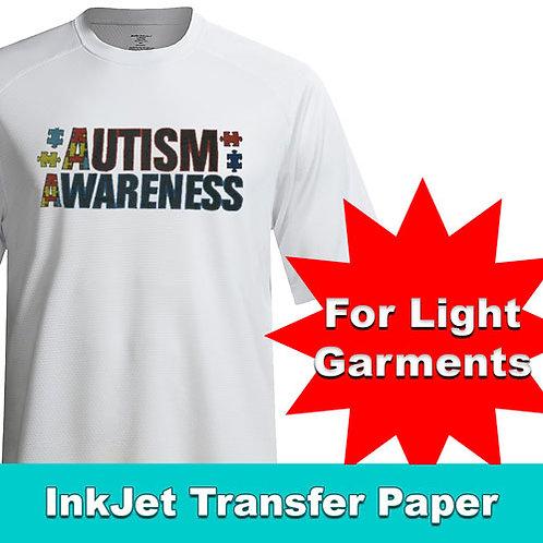 Printable HTV INKJET for Light Garments