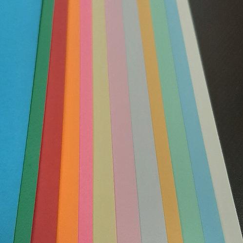 Cardstock 65lb 8.5x11inches per sheet