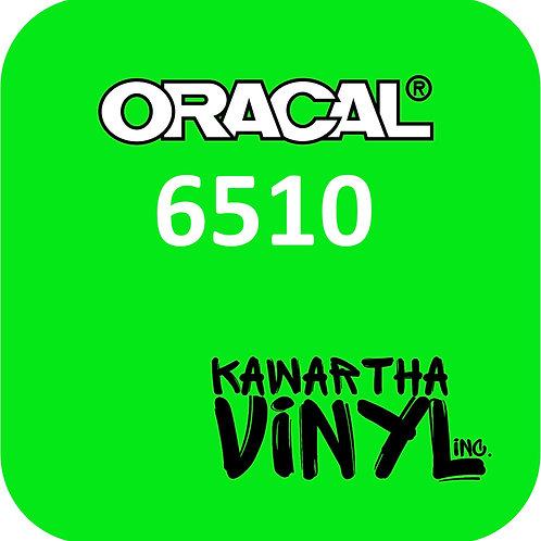 Oracal 6510 - Fluorescent Adhesive Permanent Vinyl