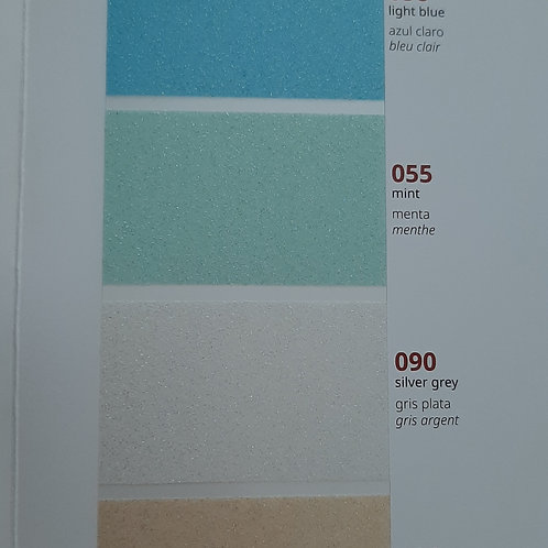 Oracal 8810 12x12in Frosted Glass Permanent Adhesive Vinyl