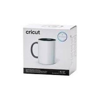 Cricut 15oz White Gray Mug