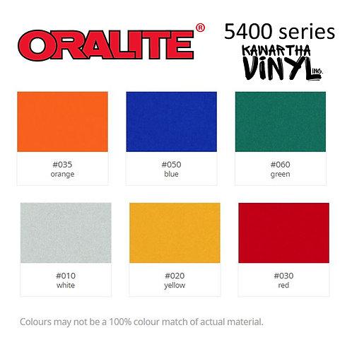 Oralite 5400 Reflective Permanent Adhesive Vinyl