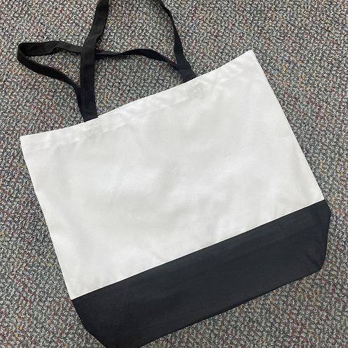 Sublimation Tote Bag Black/White