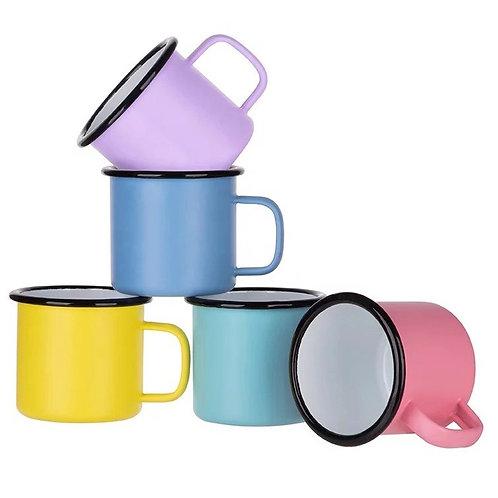 12oz sublimation enamel mugs