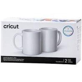 Cricut® 12oz. White Ceramic Mug Blanks, 2 pack