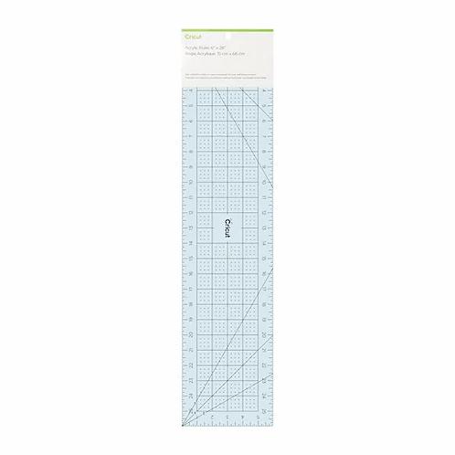 "Cricut Acrylic Ruler 3"" x 18"""
