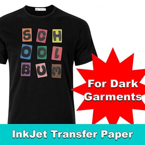 Printable HTV INKJET for Dark Garments