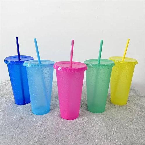 Glitter Cold Cups 24oz 5pk