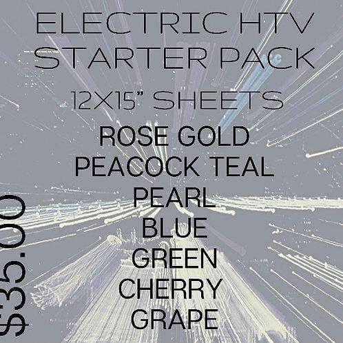 Electric HTV Starter Bundle