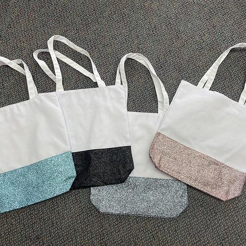 Sublimation Glitter Tote Bag