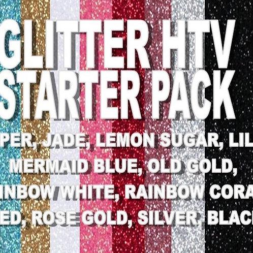 Glitter HTV Starter Pack
