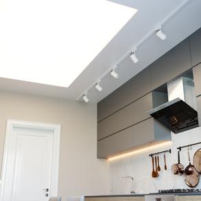 עיצוב תקרה במטבח