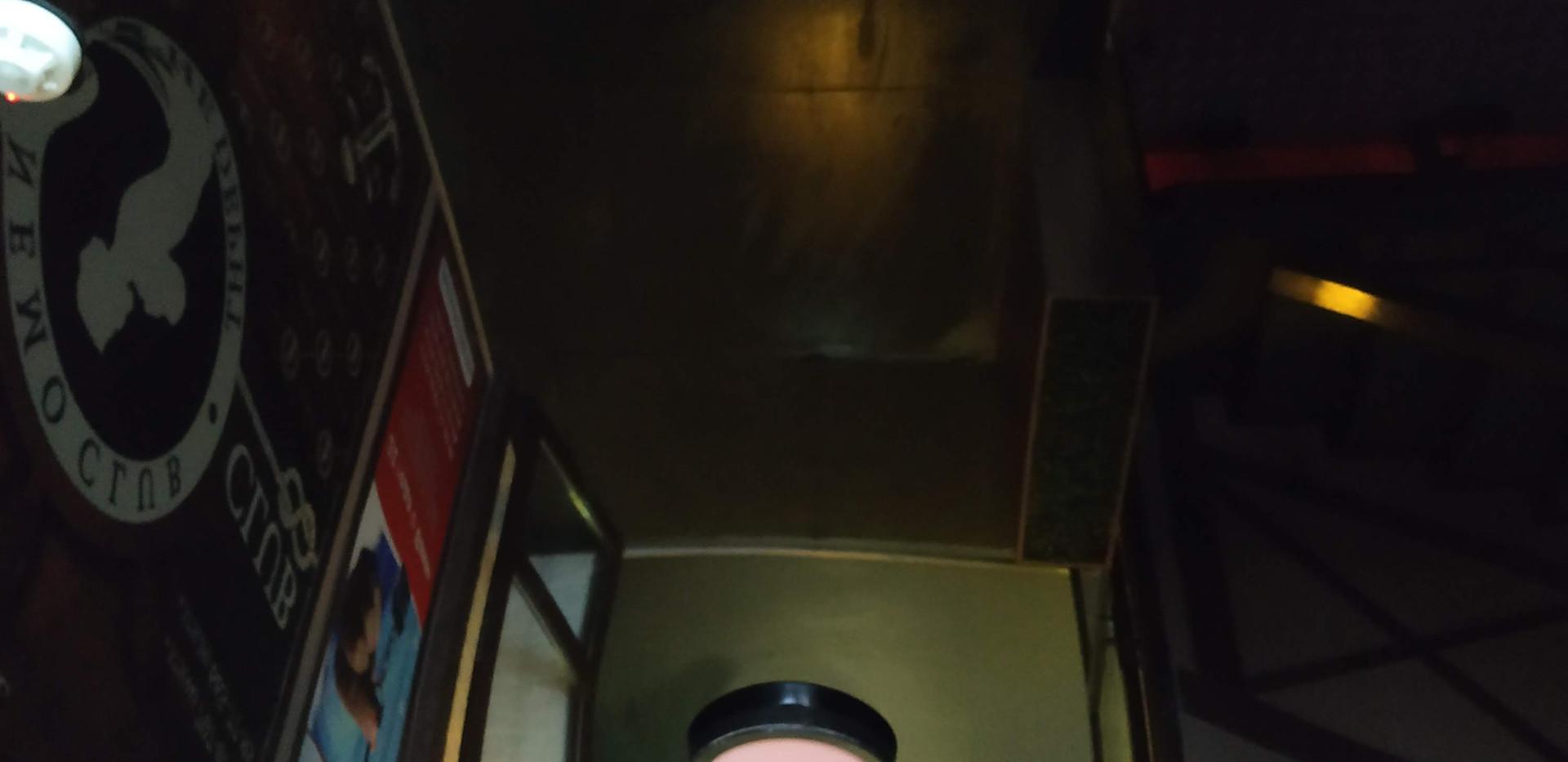 תקרה נמתחת לובי כניסה לבניין
