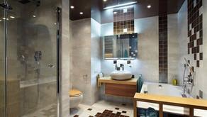 רטיבות בתקרה בחדר אמבטיה