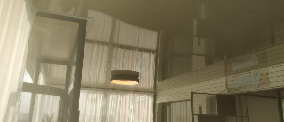 תקרה נמתחת למשרד בכפר סבא