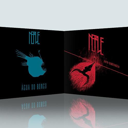 """Pack 2 CD """"AUTO-SABOTAGEM"""" + """"ÁGUA DO BONGO"""""""