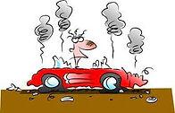 Broke Car