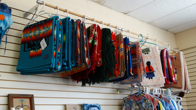 We Specialize In Native American Goods!
