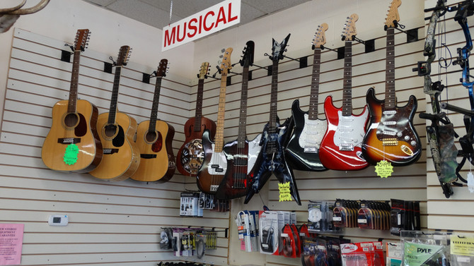 Great Selection Of Guitars!