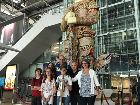 Abschied nach 2 Wochen Thailand