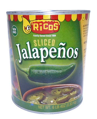 Jalapeño Sliced 2.8kg