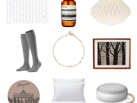 Schöne Dinge: Ein Geschenkeguide für den Winter