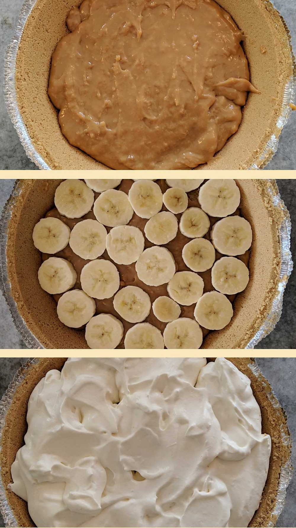 Banoffee pie recipe to make in a science classroom.