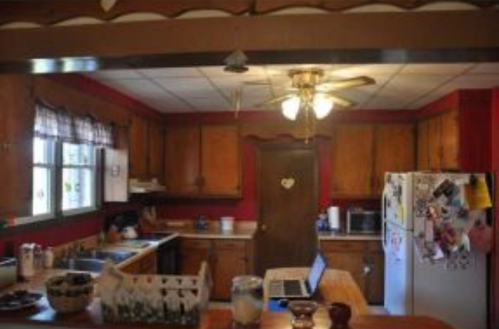 budget kitchen renovation before picture