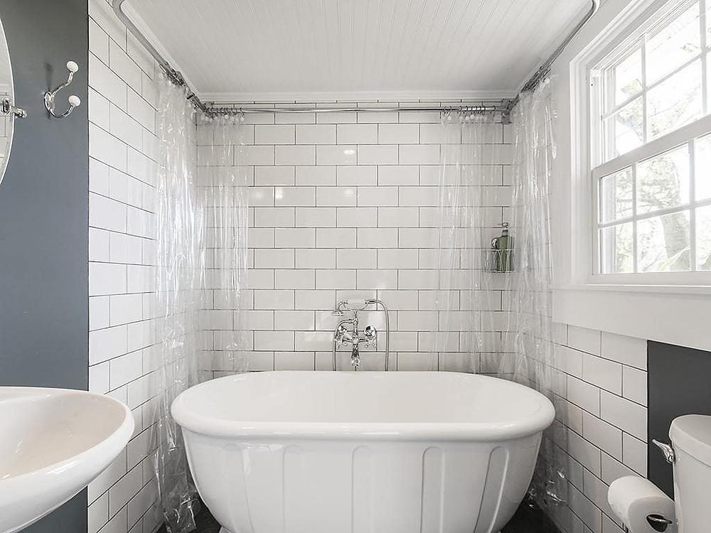 DIY bathroom renovation on a teacher's budget