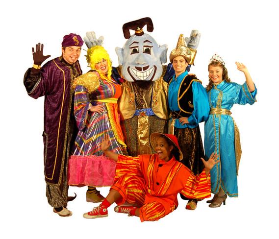 Aladdin & His Friends