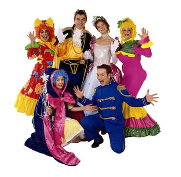 Cinderella & Her Friends