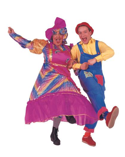 Mrs Hood & Posh Bert
