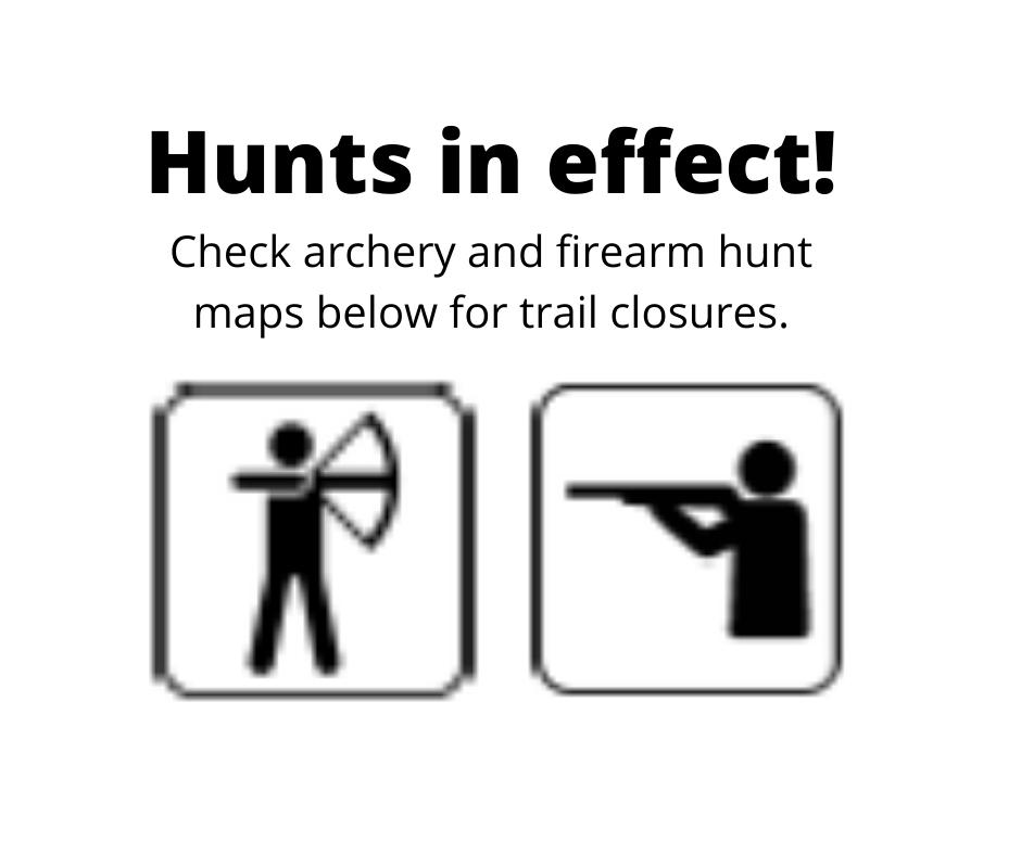 Hunts in effect!