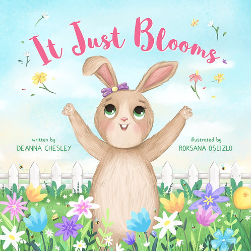 It Just Blooms - Signed Hardcover