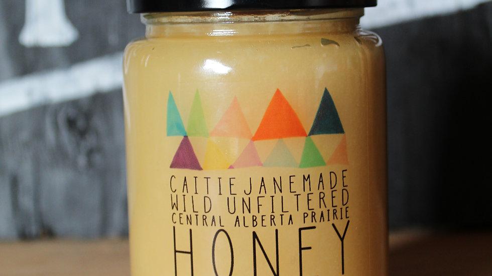 Caitie Jane Made Wild Unfiltered Honey ~ 539g