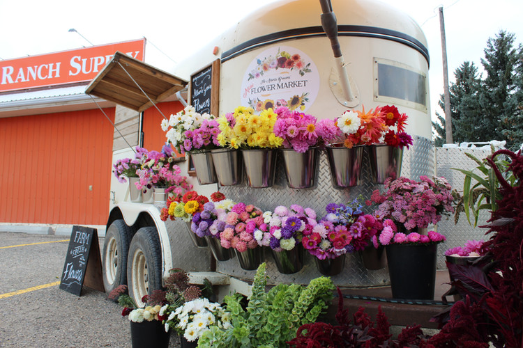 Alberta Girl Acres Flower Trailer