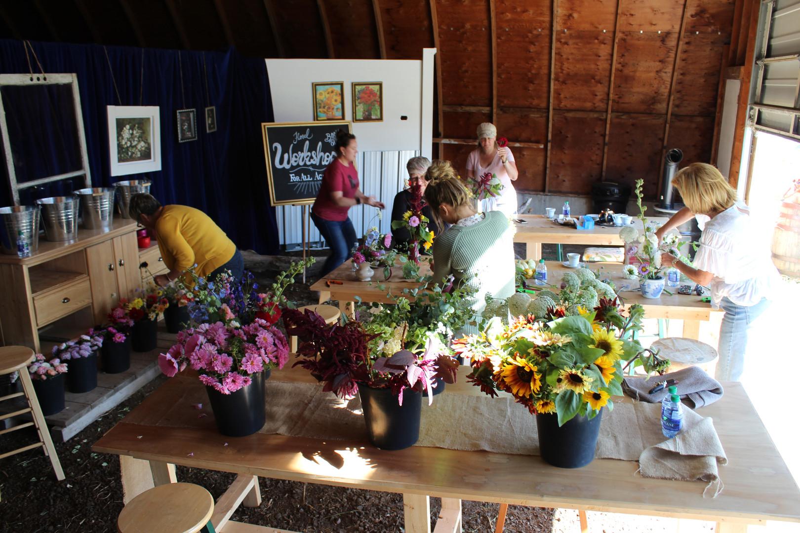 Workshop at Alberta Girl Acres