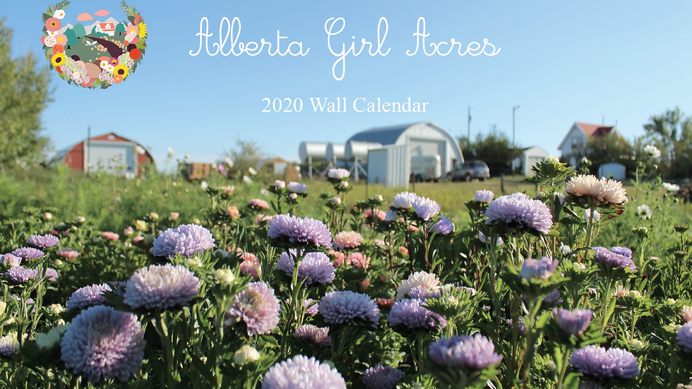 Alberta Girl Acres 2020 Wall Calendar