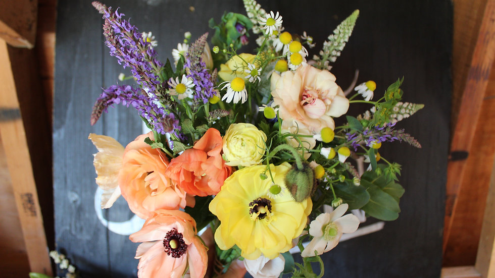 Spring Bouquet Subscription CSA