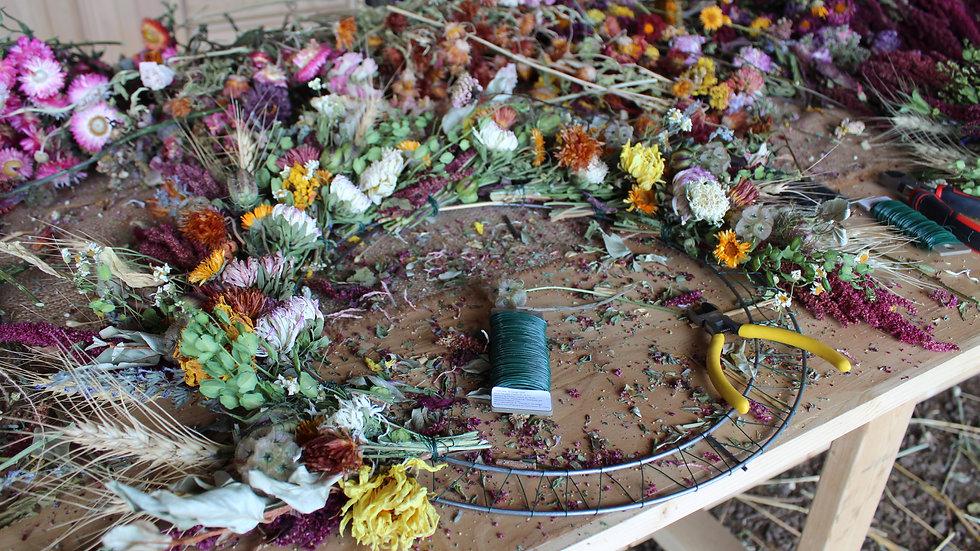 Harvest Wreath Workshops