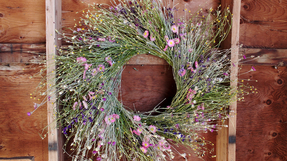 Easter Wreaths ~ A Traveling Workshop!