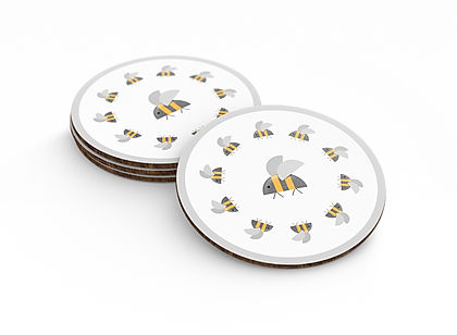 Urbee_Master_Coasters_QueenBee_Circle_Gr