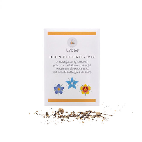 Bee & Butterfly Mix Seed Packet