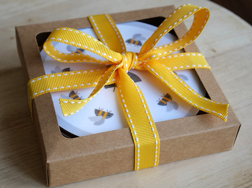 Set of 4 Coasters - Gift Set